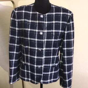 Pendleton✨ Plaid Wool Jacket